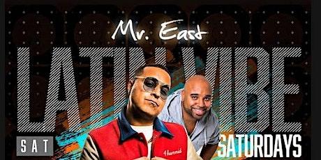 Latin Vibe Saturdays DJ Camilo Live At Mister East tickets