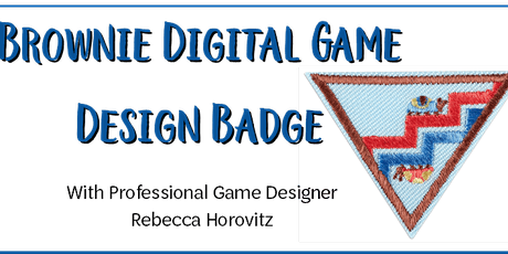 Brownie Digital Game Design Badge with Annapurna Game Creator tickets
