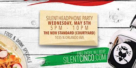"Silent Cinco: Silent Headphone Party ""Outside Courtyard"" boletos"