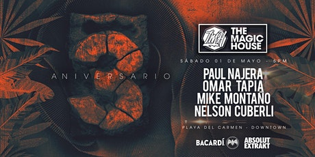 01 May / 3er Aniversario #TheMagicHouse tickets