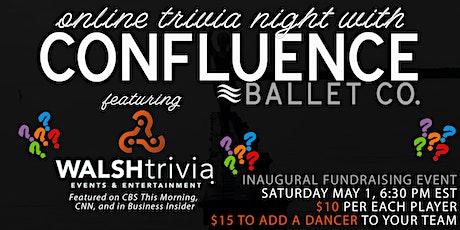 Confluence Ballet  Trivia Fundraiser tickets