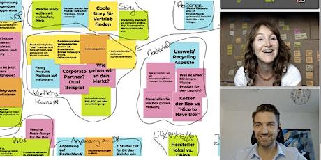Virtual Design Thinking Training - Digital, Interaktiv, Häppchweise -Teil1 Tickets
