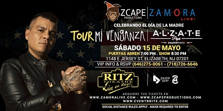 "ALZATE EN NEW JERSEY ""MI VENGANZA TOUR"" tickets"