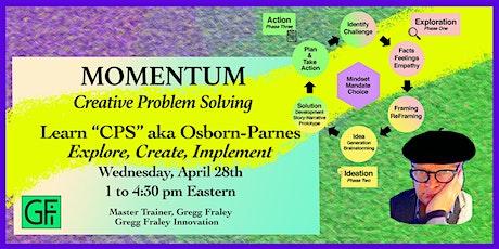 Momentum Creative Problem Solving -- Basic Training tickets