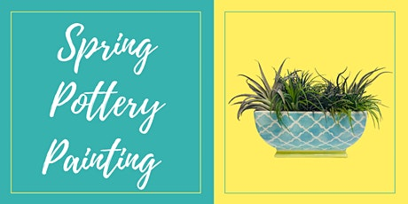Spring Pottery Painting at Mirror Image Brewing tickets
