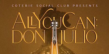 Coterie Social Presents: Cinco de Mayo featuring Don Julio tickets