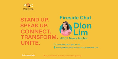 Fireside Chat with ABC7News Anchor Dion Lim tickets