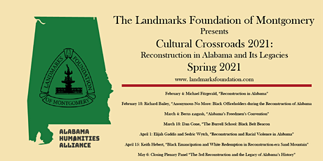 Black Emancipation and White Redemption in Reconstruction Era Sand Mountain tickets