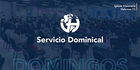 Servicio Dominical Hebreos 11 boletos