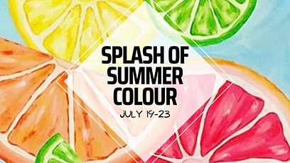 Summer Splash of Colour Virtual Camp tickets