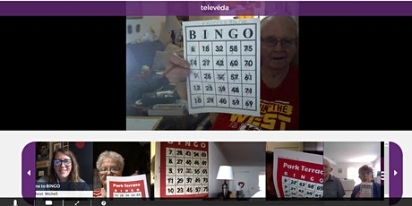 World's Largest Virtual Bingo for Seniors: Fight Against Social Isolation! tickets