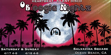 Heartbeat Silent Disco | OB'oogie Nightz | 4/18/21 | 4-8pm tickets