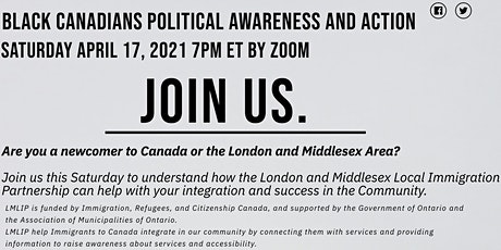 Black Canadians Political Awareness/Action tickets