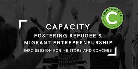 Capacity Entrepreneurship Programme | Mentor & Coach Info Session tickets