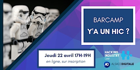 Barcamp : Y'a un HIC ? tickets