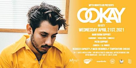 Ookay Live at Myth Nightclub | Wednesday 4.21.2021 tickets