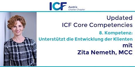 Updated  ICF Core Competencies: Unterstützt die Entwicklung der Klienten Tickets