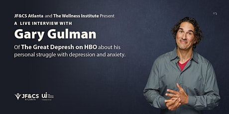 A Live Interview with HBO's Gary Gulman about depression and  anxiety ingressos