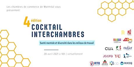 4ème édition du Cocktail Interchambres tickets