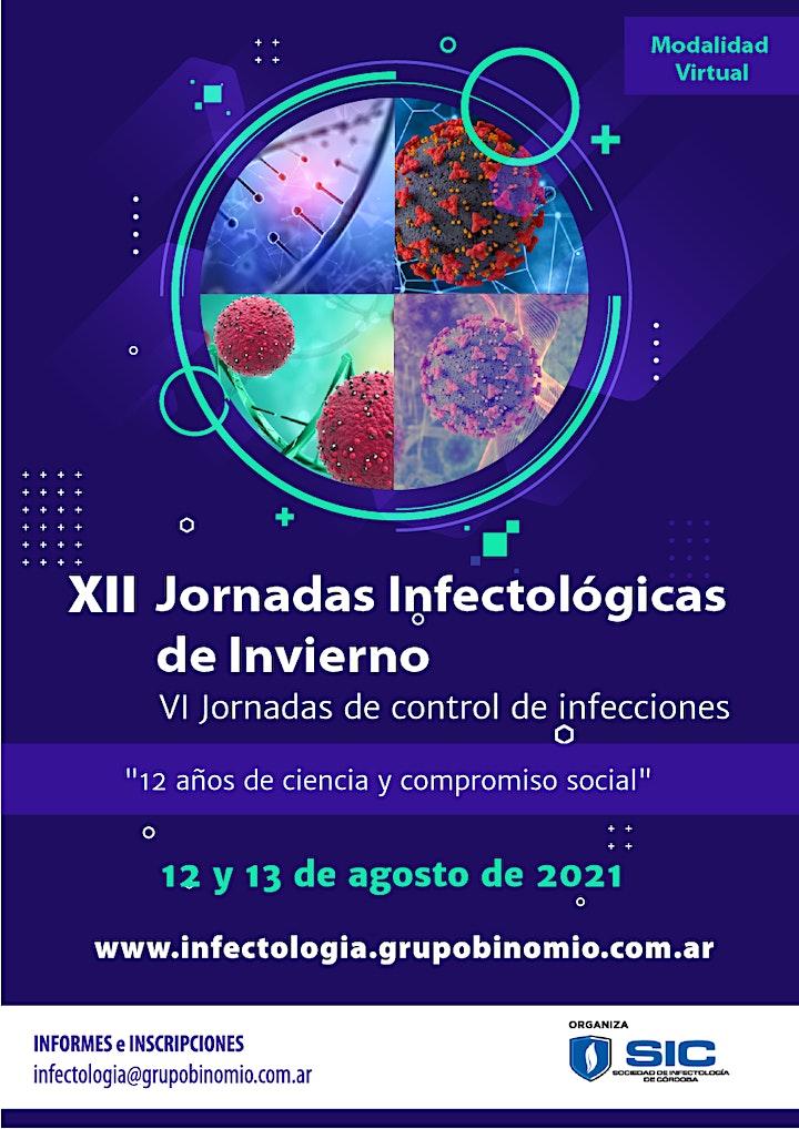 Imagen de XII Jornadas Infectológicas de Invierno 2021