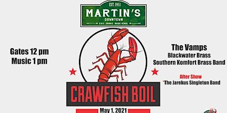 Martin's Crawfish Boil tickets