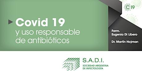 Covid-19 y uso responsable de antibióticos entradas