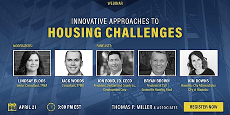 Innovative Approaches To Housing Challenges tickets