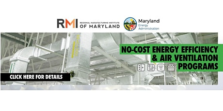 Webinar: RMI Energy Efficiency & Air Filtration Programs for Manufacturers tickets