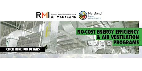 Webinar: RMI Energy Efficiency & Air Filtration Programs for Manufacturers biglietti