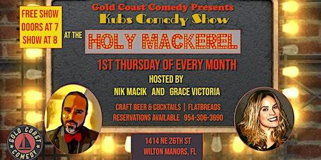Holy Mackerel Comedy Show tickets