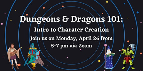 Dungeons & Dragons 101: Intro to Character Creation tickets