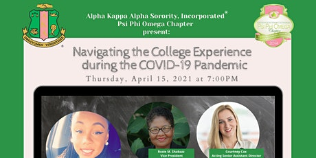 Navigating the College Experience during the COVID-19 Pandemic tickets