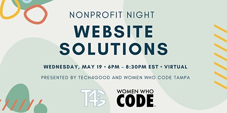 Nonprofit Night - Website Solutions tickets