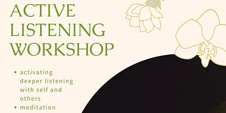 Active Listening Workshop tickets