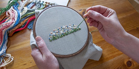 Embroidery 101 - Learning Embroidery Basics (Webinar) tickets
