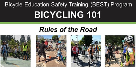 BIKE MONTH: Bicycling 101 - Rules of the Road - Online Class tickets