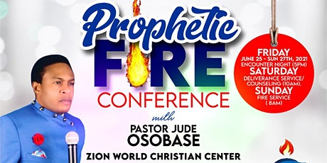 PROPHETIC FIRE CONFERENCE tickets