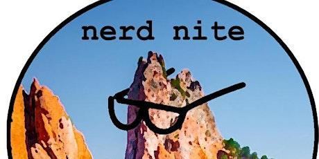 Nerd Nite CoS tickets