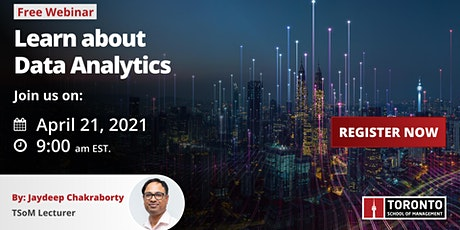 Learn about our Data Analytics program tickets