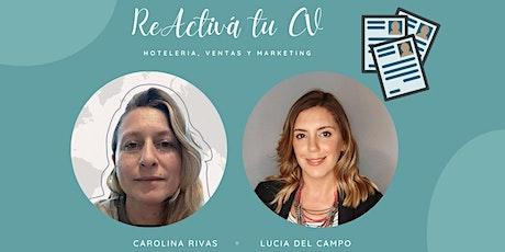 #Re Activa Tu CV - Hotel Sales & Marketing tickets