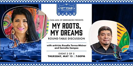 My Roots, My Dreams Series - Round-Table Discussion with Artivists tickets