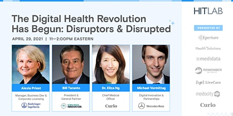 The Digital Health Revolution Has Begun: Disruptors & Disrupted tickets