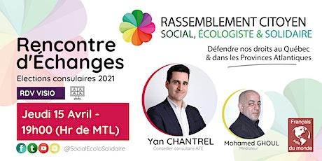 Rencontre d'échanges Rouyn-Noranda - élections consulaires 2021 billets