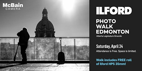 Ilford Photo Walk (Edmonton) - presented by McBain Camera tickets