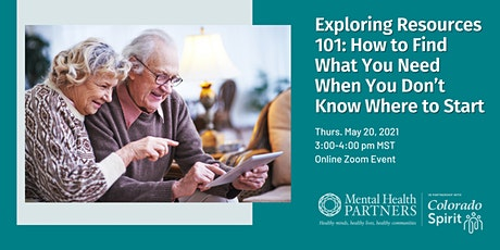 Exploring Resources 101: For When You Don't Know Where to Start tickets
