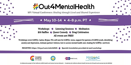 Recognizing and Addressing Mental Health Concerns for LGBTQ+ Community Memb tickets