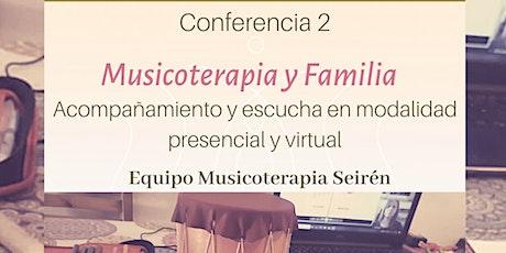 Ciclo de Conferencias Seirén - Conferencia 2 entradas