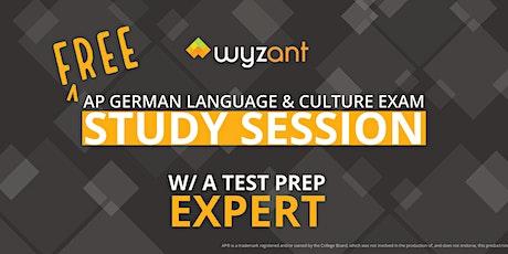 FREE German Language & Culture Exam Study Session Tickets