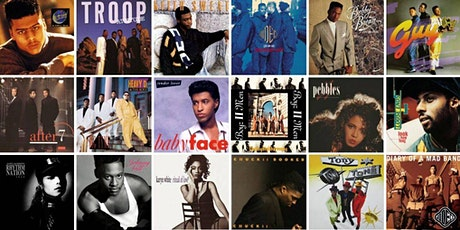 R&B and New Jack Swing Online Party! Live DJ tickets