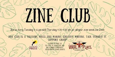 Tuesday Night Zine Club on Zoom tickets